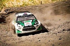 DS3 WRC de Citroen de voiture de rassemblement de Rc Images stock