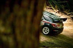 DS3 WRC de Citroen de voiture de rassemblement de Rc Photo libre de droits