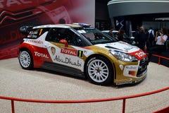 DS3 WRC Genève 2013 de Citroen Photo libre de droits