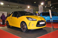 DS3 de Citroen Images libres de droits