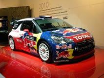 DS3 WRC 2011 de Citroen Foto de archivo