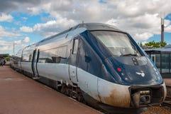 DSB IC4 pociąg Fotografia Stock