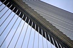_DSC6195巴拿马的百年桥梁细节 免版税库存照片