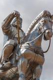 Dschingis可汗纪念碑 库存照片