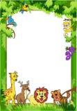 Dschungel-Einladung Lizenzfreie Stockbilder