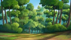 Dschungel im Morring Lizenzfreies Stockfoto