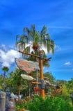 Dschungel-Kreuzfahrt-Zeichen am magischen Königreich Stockfotografie
