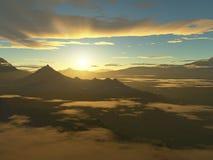 Dschungel-Sonnenaufgang Lizenzfreie Stockfotografie