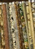 Dschungel-Steppdecke-Gewebe Lizenzfreie Stockbilder