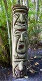 Dschungel-Totem Pole Lizenzfreies Stockfoto