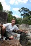 Dschungel-Wanderer stockbilder