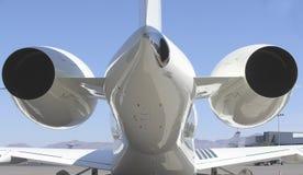 Düsenflugzeug Lizenzfreies Stockbild