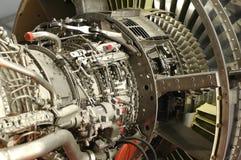 Düsentriebwerkdetail Lizenzfreies Stockfoto