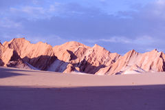 Désert d'Atacama, Chili Photo libre de droits
