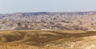 Désert de Judean l'israel Photographie stock libre de droits
