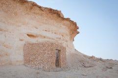 Désert de Zekreet, Doha, Qatar Photographie stock libre de droits