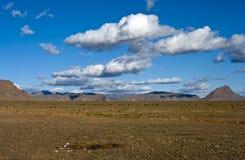 désert à l'intérieur Images libres de droits