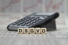 DSGVO Στοκ Εικόνες