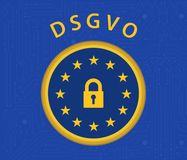 DSGVO regulation Royalty Free Stock Photography