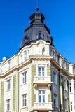 DSK-Bank Headoffice Sofia, Bulgarije Stock Foto's