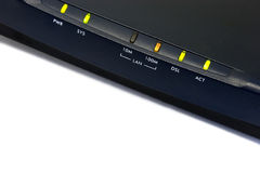 Dsl modem Stock Photography