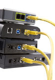 DSL modems Royalty Free Stock Photography