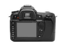 dslr дисплея камеры Стоковые Фотографии RF
