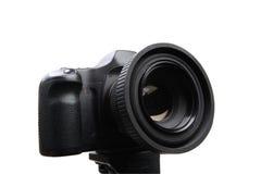 Dslr camera. Isolated on white background Royalty Free Stock Images