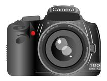 Dslr Camera Stock Photo