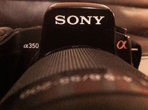 dslr camera Stock Image
