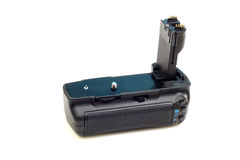 Dslr camera battery grip Royalty Free Stock Photo