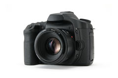 DSLR camera body. stock photography