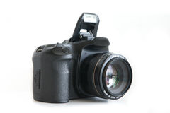 Dslr  camera body and lens Royalty Free Stock Image