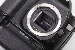 DSLR camera close-up. Stock Photos