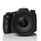 DSLR camera. DSLR digital single lens reflex camera Stock Photo