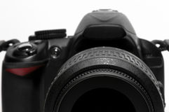 DSLR camera isolated Stock Photography