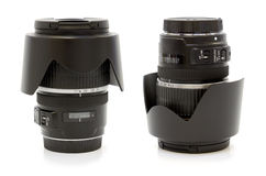 Dslr camera lens Stock Images