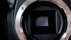 DSLR camera stock video