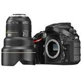 DSLR-camera, optische zoomlens Royalty-vrije Stock Afbeeldingen