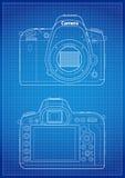 DSLR Camera Outline Stock Photo
