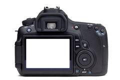 DSLR Camera rear view Stock Photography