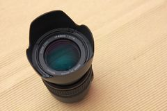 DSLR camera standard lens Stock Images