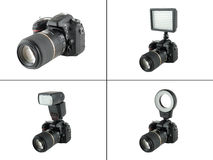 DSLR camera Royalty Free Stock Photo