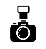 Dslr camera Royalty Free Stock Photos