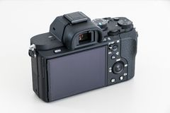 DSLR-camera zonder lens stock foto