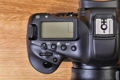DSLR-cameradetail royalty-vrije stock foto