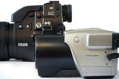 DSLR cameras Stock Photo