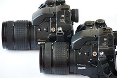DSLR cameras Royalty Free Stock Photography