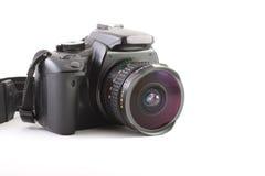 Dslr con una lente de fisheye Imagenes de archivo