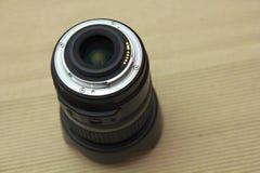 DSLR-de cameralens zet op Royalty-vrije Stock Foto